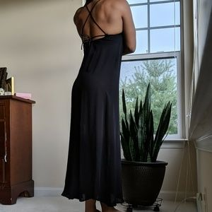 Black Cover-up Dress